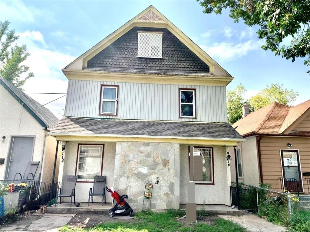 Main Photo: 714 Pritchard Avenue in Winnipeg: North End Residential for sale (4A)  : MLS®# 202123222