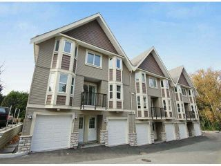 """Photo 1: 28 33313 GEORGE FERGUSON Way in Abbotsford: Central Abbotsford Townhouse for sale in """"CEDAR LANE"""" : MLS®# F1447081"""