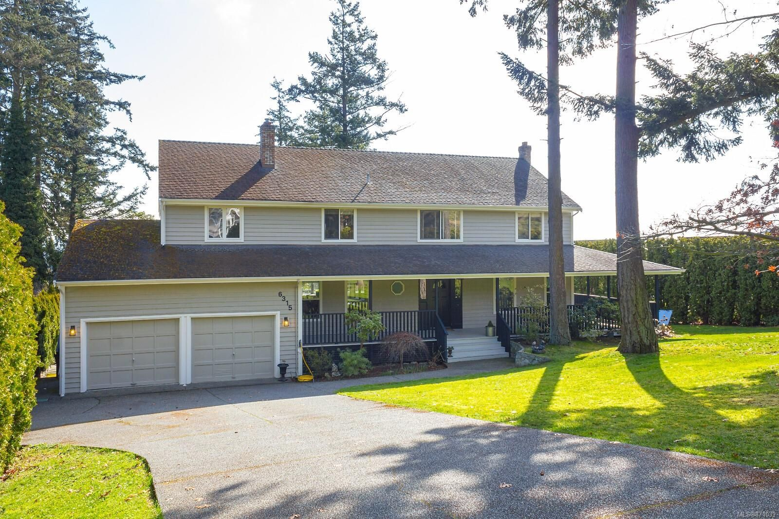 Main Photo: 6315 Clear View Rd in : CS Martindale House for sale (Central Saanich)  : MLS®# 871039