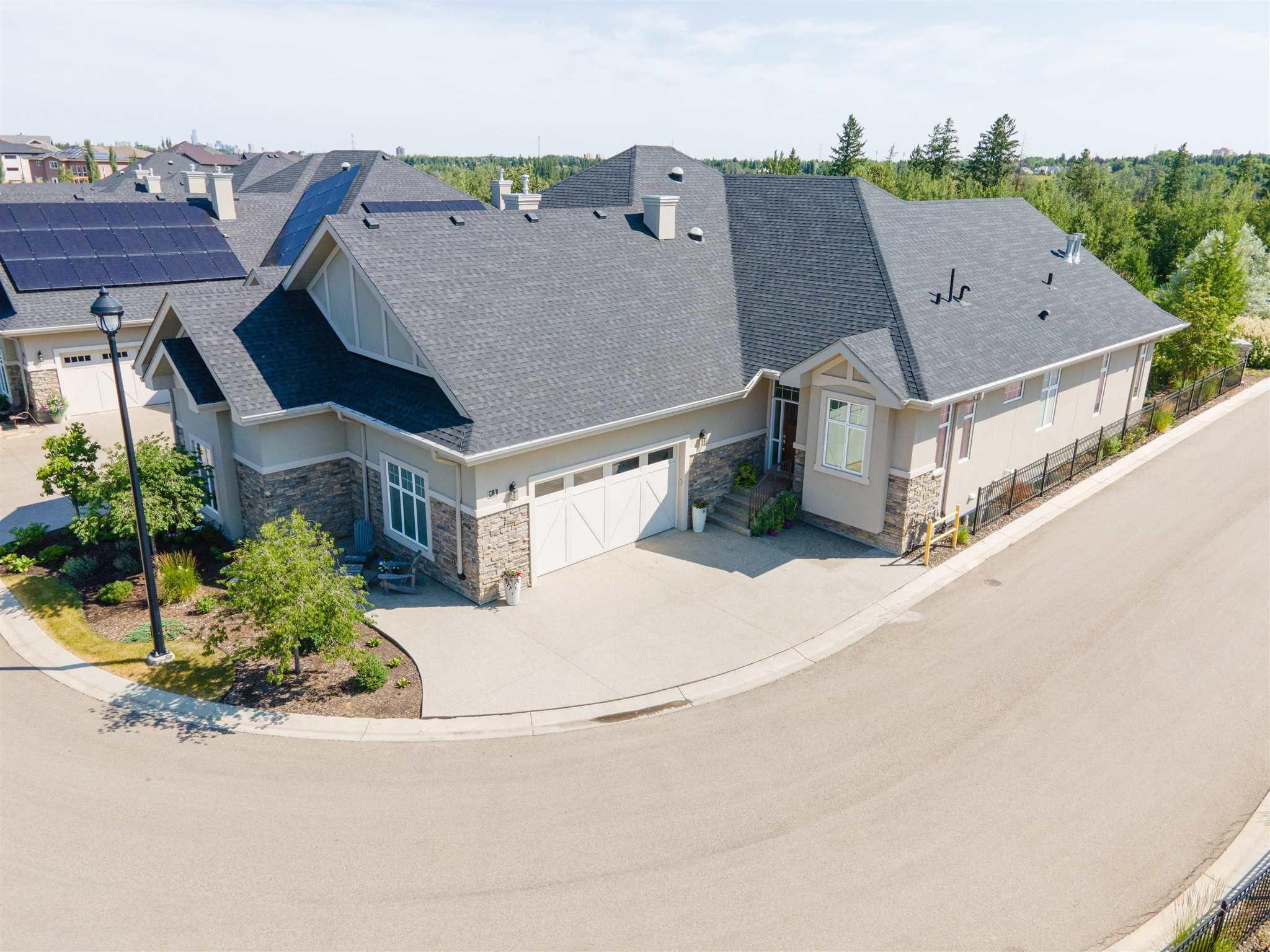 Main Photo: 1 7570 MAY Common in Edmonton: Zone 14 House Half Duplex for sale : MLS®# E4256265