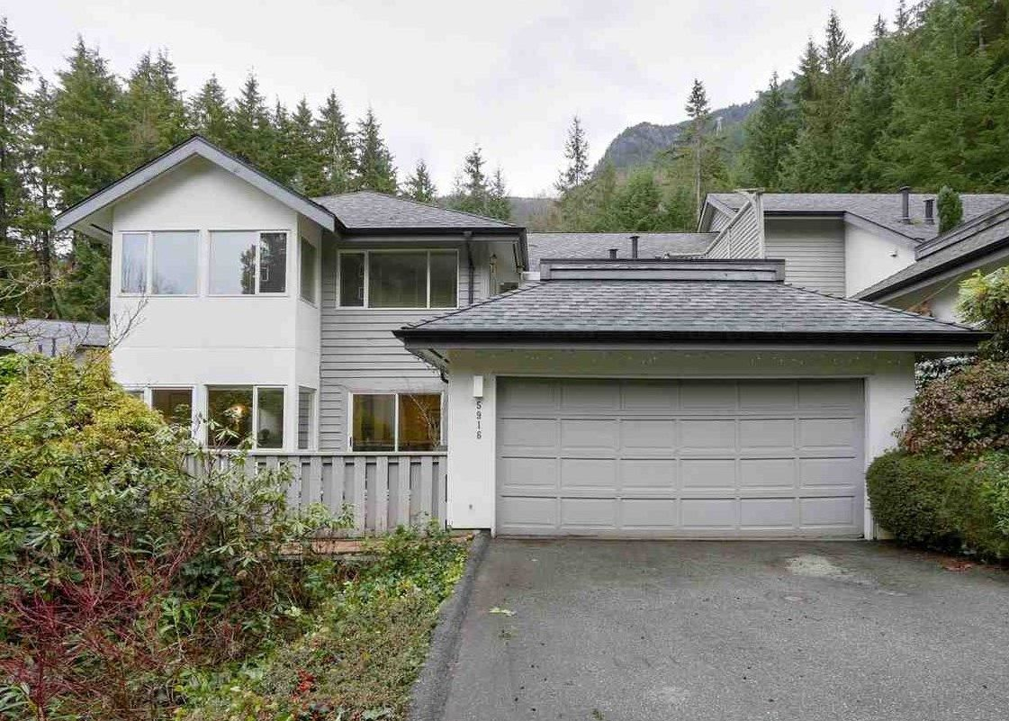 """Photo 1: Photos: 5916 NANCY GREENE Way in North Vancouver: Grouse Woods Townhouse for sale in """"Grousemont Estates"""" : MLS®# R2432954"""