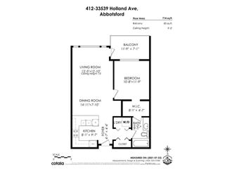 """Photo 25: 412 33539 HOLLAND Avenue in Abbotsford: Central Abbotsford Condo for sale in """"THE CROSSING"""" : MLS®# R2605185"""