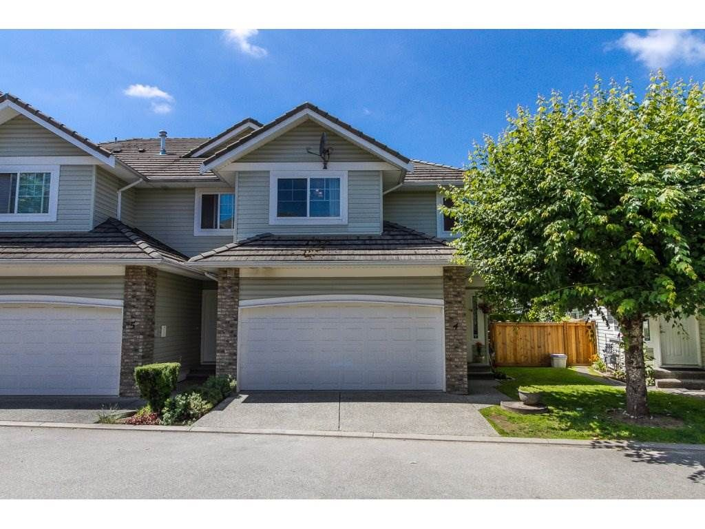 """Main Photo: 4 1290 AMAZON Drive in Port Coquitlam: Riverwood Townhouse for sale in """"CALLOWAY GREEN"""" : MLS®# R2085636"""