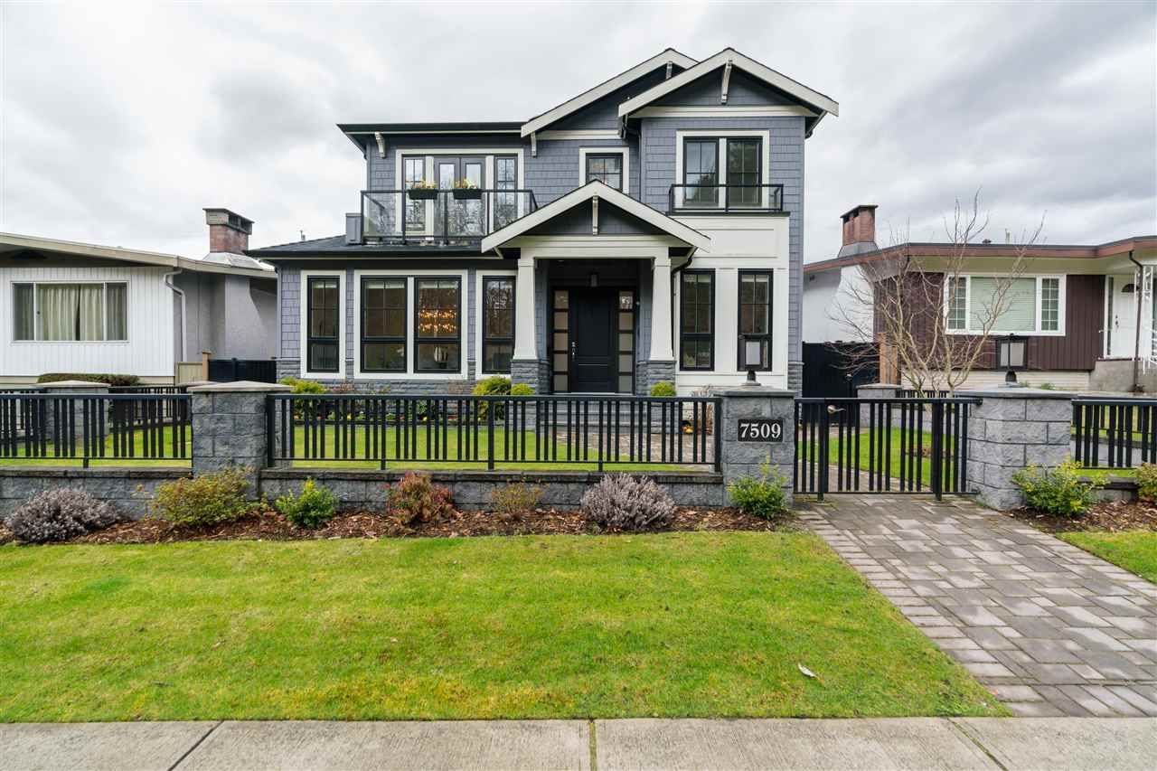 Main Photo: 7509 VIVIAN Drive in Vancouver: Fraserview VE House for sale (Vancouver East)  : MLS®# R2555380