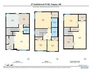 Photo 40: 27 Saddlebrook Place NE in Calgary: Saddle Ridge Semi Detached for sale : MLS®# A1122360