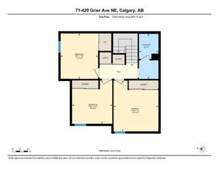 Photo 29: 71 420 Grier Avenue NE in Calgary: Greenview Row/Townhouse for sale : MLS®# A1153174