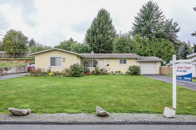 Main Photo: 2327 WESTERLY Street in Abbotsford: Abbotsford West House for sale : MLS®# R2003516