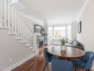 """Photo 4: 908 W 13TH Avenue in Vancouver: Fairview VW Townhouse for sale in """"Brownstone"""" (Vancouver West)  : MLS®# R2546994"""