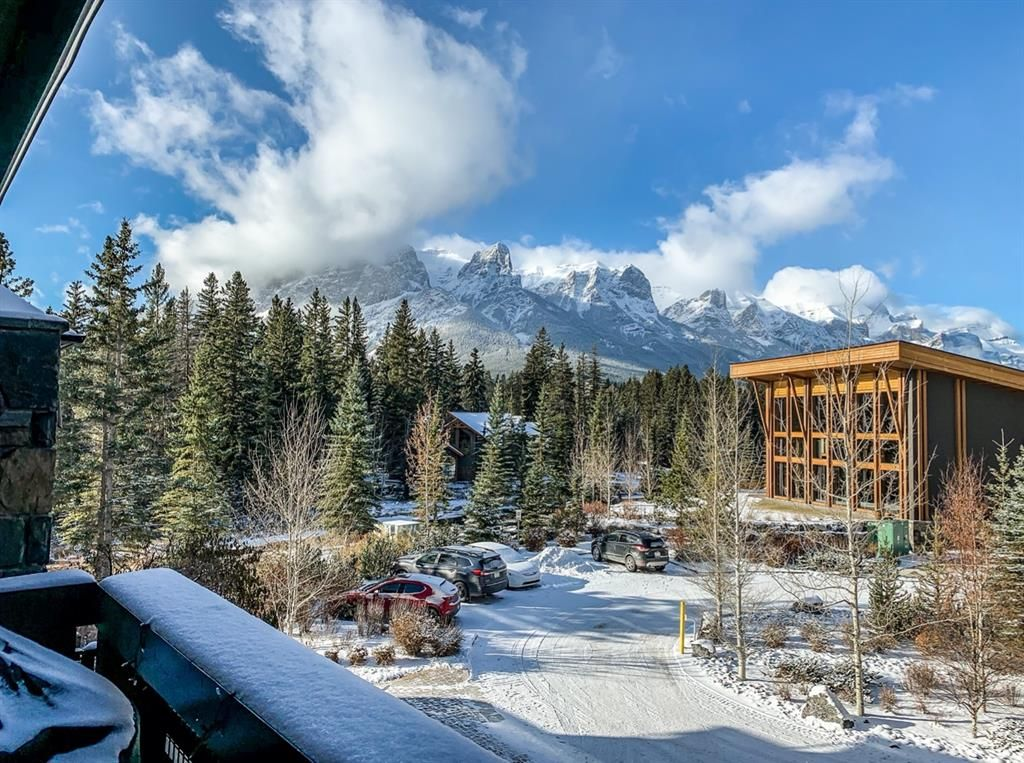 Main Photo: 212 379 Spring Creek Drive: Canmore Apartment for sale : MLS®# A1049069