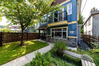 Photo 1: 1607 E GEORGIA Street in Vancouver: Hastings 1/2 Duplex for sale (Vancouver East)  : MLS®# R2488468