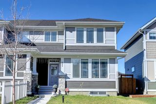 Photo 2: 155 Redstone Grove NE in Calgary: Redstone Semi Detached for sale : MLS®# A1153262