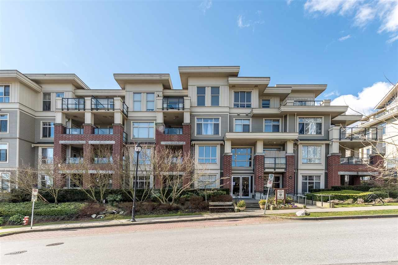"""Main Photo: 209 270 FRANCIS Way in New Westminster: Fraserview NW Condo for sale in """"The Grove"""" : MLS®# R2554546"""