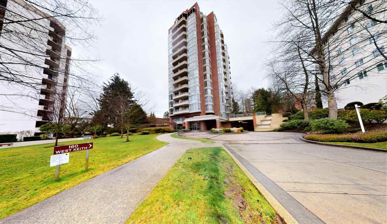 "Main Photo: 901 160 W KEITH Road in North Vancouver: Central Lonsdale Condo for sale in ""VICTORIA PARK WEST"" : MLS®# R2553540"