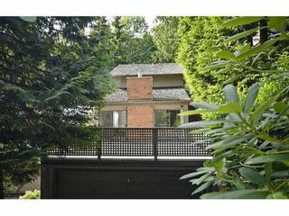 Photo 2: 5551 HUCKLEBERRY LN in North Vancouver: Grouse Woods House for sale : MLS®# V906922