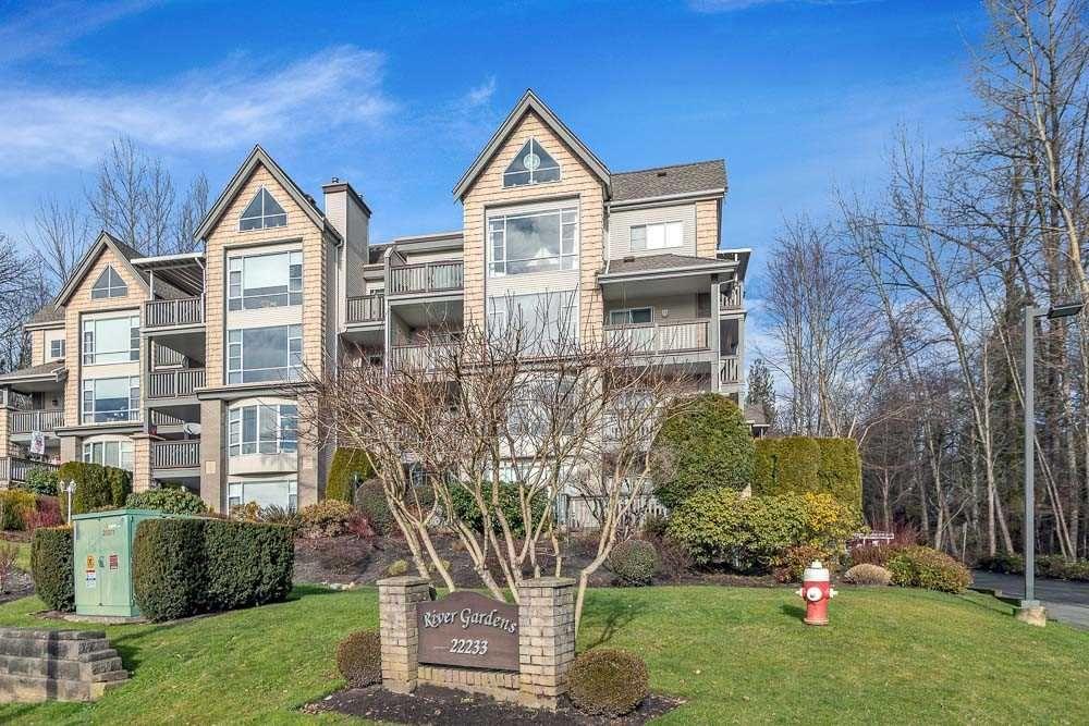 "Main Photo: 204 22233 RIVER Road in Maple Ridge: East Central Condo for sale in ""RIVER GARDEN"" : MLS®# R2532793"