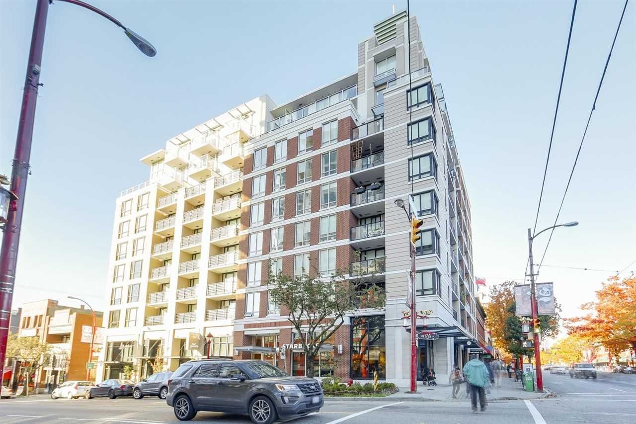 """Main Photo: 711 189 KEEFER Street in Vancouver: Downtown VE Condo for sale in """"KEEFER BLOCK"""" (Vancouver East)  : MLS®# R2217434"""