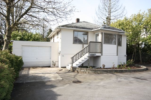 """Main Photo: 14960 FRASER Highway in Surrey: Bear Creek Green Timbers House for sale in """"BEAR CREEK GREEN TIMBERS"""" : MLS®# F1009859"""