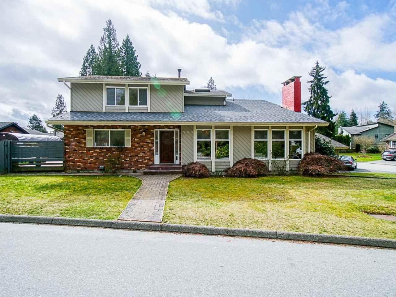 Main Photo: 763 WEYMOUTH Drive in North Vancouver: Lynn Valley House for sale : MLS®# R2557549