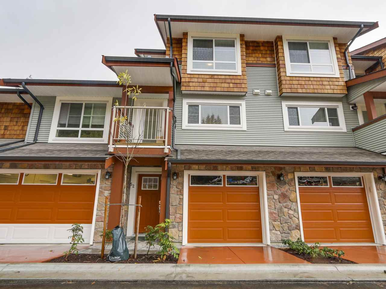 """Main Photo: 52 23651 132 Avenue in Maple Ridge: Silver Valley Townhouse for sale in """"MYRON'S MUSE"""" : MLS®# R2130143"""