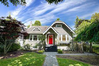"""Photo 1: 5592 TRAFALGAR Street in Vancouver: Kerrisdale House for sale in """"Kerrisdale"""" (Vancouver West)  : MLS®# R2619285"""
