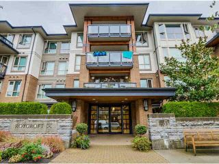 """Photo 1: 217 1153 KENSAL Place in Coquitlam: New Horizons Condo for sale in """"ROYCROFT"""" : MLS®# R2010380"""