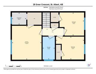 Photo 49: 28 GREER Crescent: St. Albert House for sale : MLS®# E4253444
