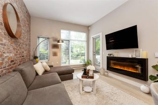 """Photo 2: 108 262 SALTER Street in New Westminster: Queensborough Condo for sale in """"Portage at Port Royal"""" : MLS®# R2509481"""