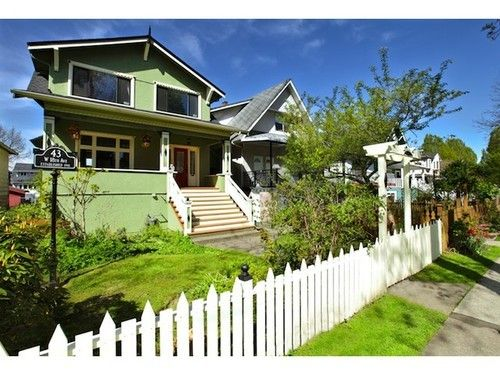Main Photo: 43 18TH Ave W in Vancouver West: Cambie Home for sale ()  : MLS®# V1027494