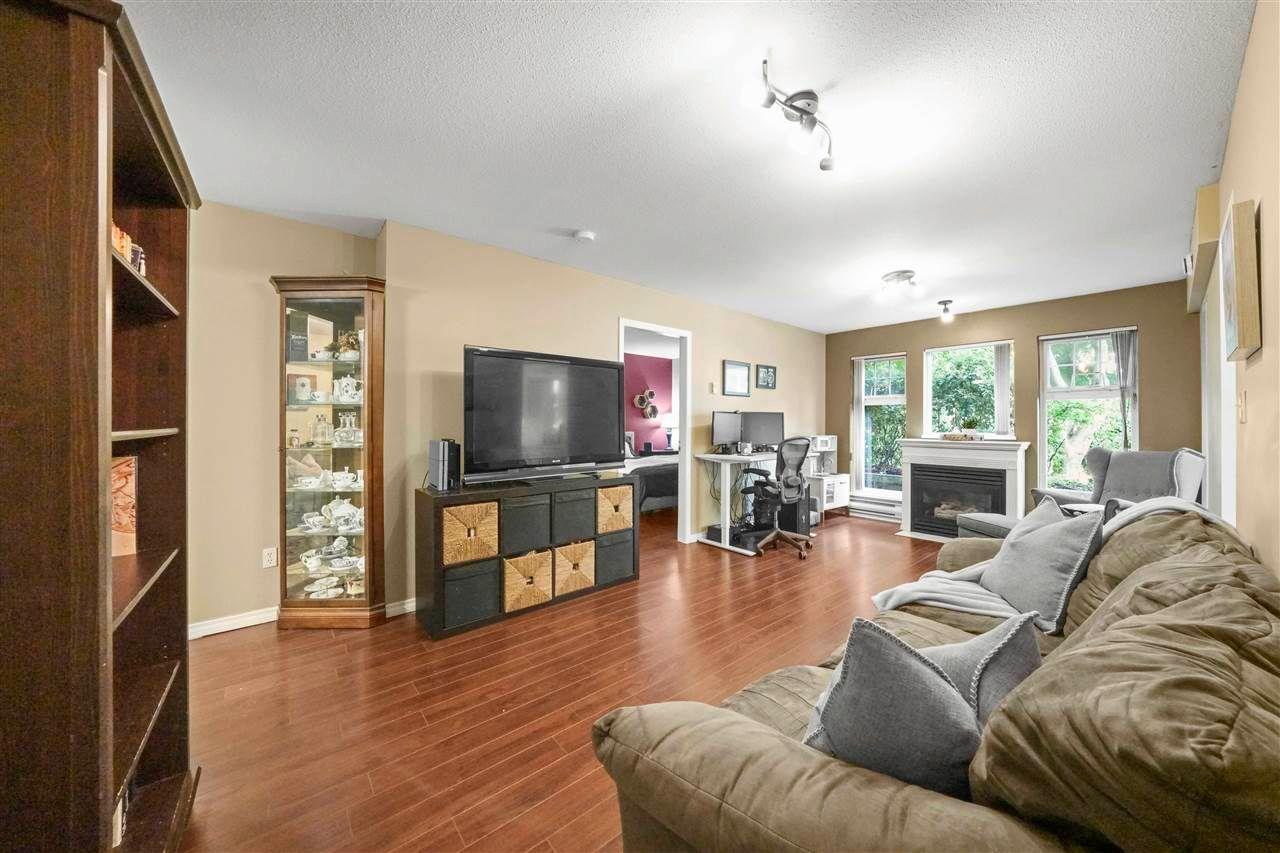 "Main Photo: 113 3085 PRIMROSE Lane in Coquitlam: North Coquitlam Condo for sale in ""Lakeside"" : MLS®# R2593175"