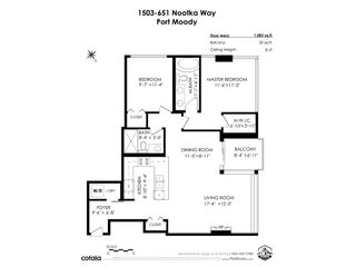 """Photo 40: 1503 651 NOOTKA Way in Port Moody: Port Moody Centre Condo for sale in """"SAHALEE"""" : MLS®# R2560691"""