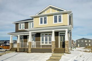 Photo 1: 110 Red Embers Common NE in Calgary: Redstone Semi Detached for sale : MLS®# A1051113
