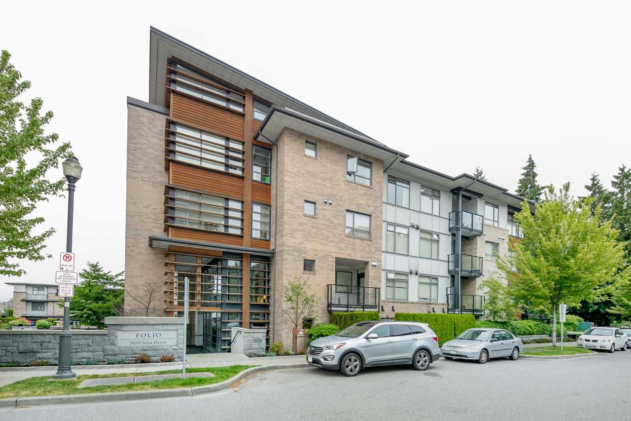 """Main Photo: 111 5955 IONA Drive in Vancouver: University VW Condo for sale in """"FOLIO"""" (Vancouver West)  : MLS®# R2269280"""