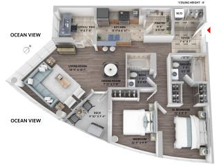 """Photo 2: 1003 1495 RICHARDS Street in Vancouver: Yaletown Condo for sale in """"Azura II"""" (Vancouver West)  : MLS®# R2249432"""