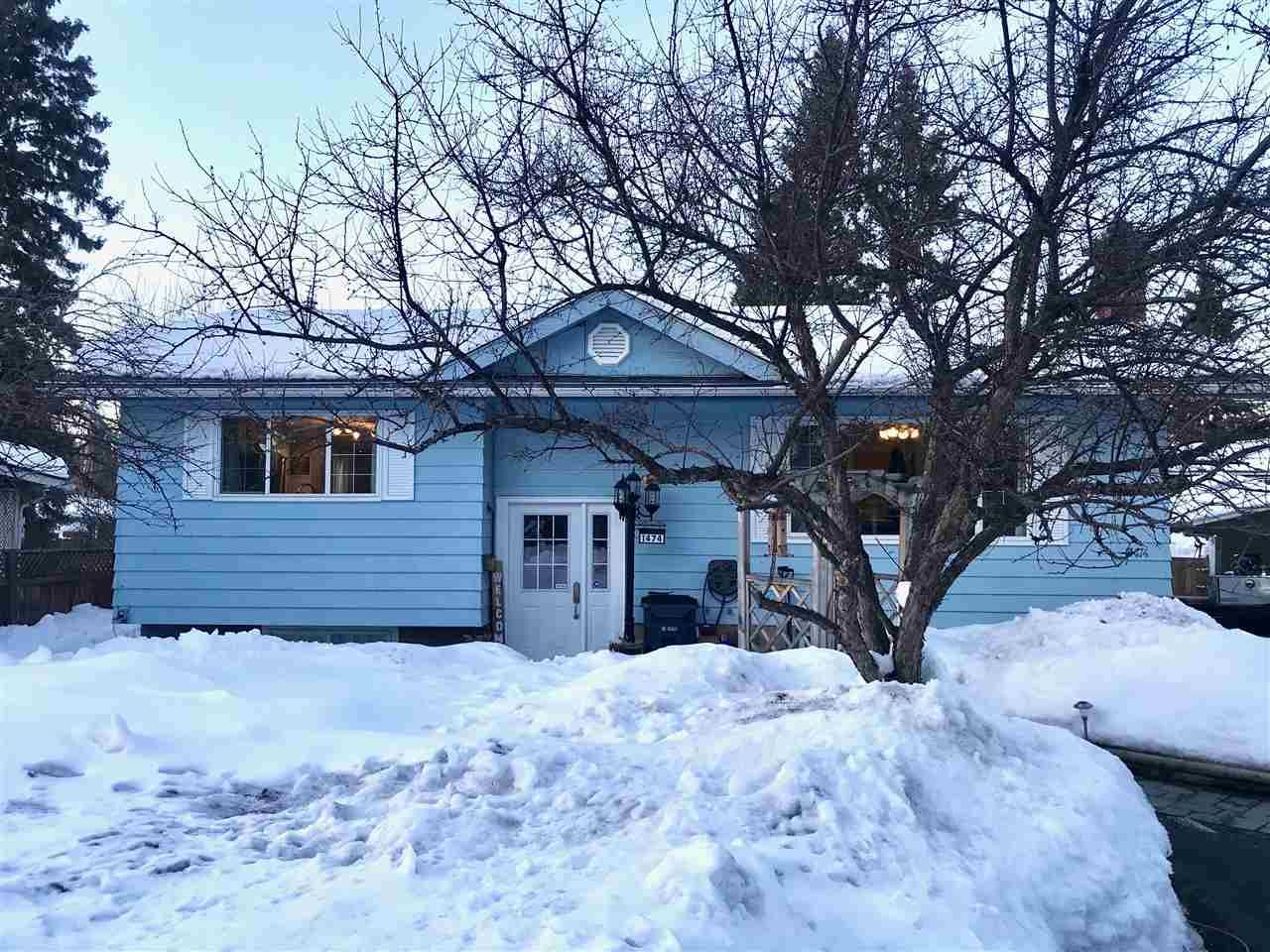 Main Photo: 1474 WARNER Avenue in Prince George: Fraserview House for sale (PG City West (Zone 71))  : MLS®# R2245933