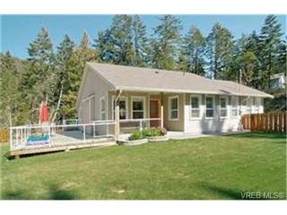 Photo 1: 689 Seedtree Rd in SOOKE: Sk East Sooke House for sale (Sooke)  : MLS®# 444891