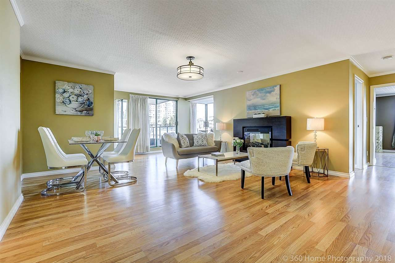 """Main Photo: 904 410 CARNARVON Street in New Westminster: Downtown NW Condo for sale in """"Carnarvon Place"""" : MLS®# R2243482"""