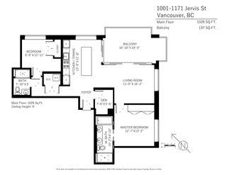 Photo 20: 1001 1171 JERVIS STREET in Vancouver: West End VW Condo for sale (Vancouver West)  : MLS®# R2383389