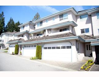 """Photo 1: 38 2990 PANORAMA Drive in Coquitlam: Westwood Plateau Townhouse for sale in """"WESBROOK VILLAGE"""" : MLS®# V768307"""