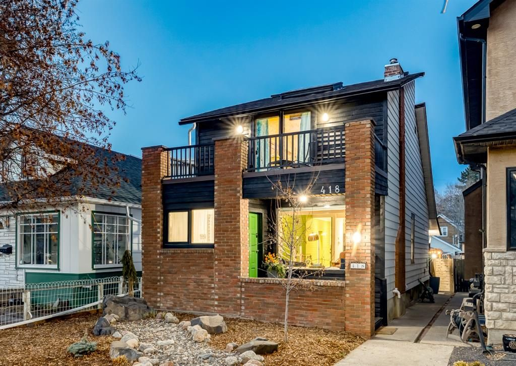 Main Photo: 418 13 Street NW in Calgary: Hillhurst Detached for sale : MLS®# A1101456