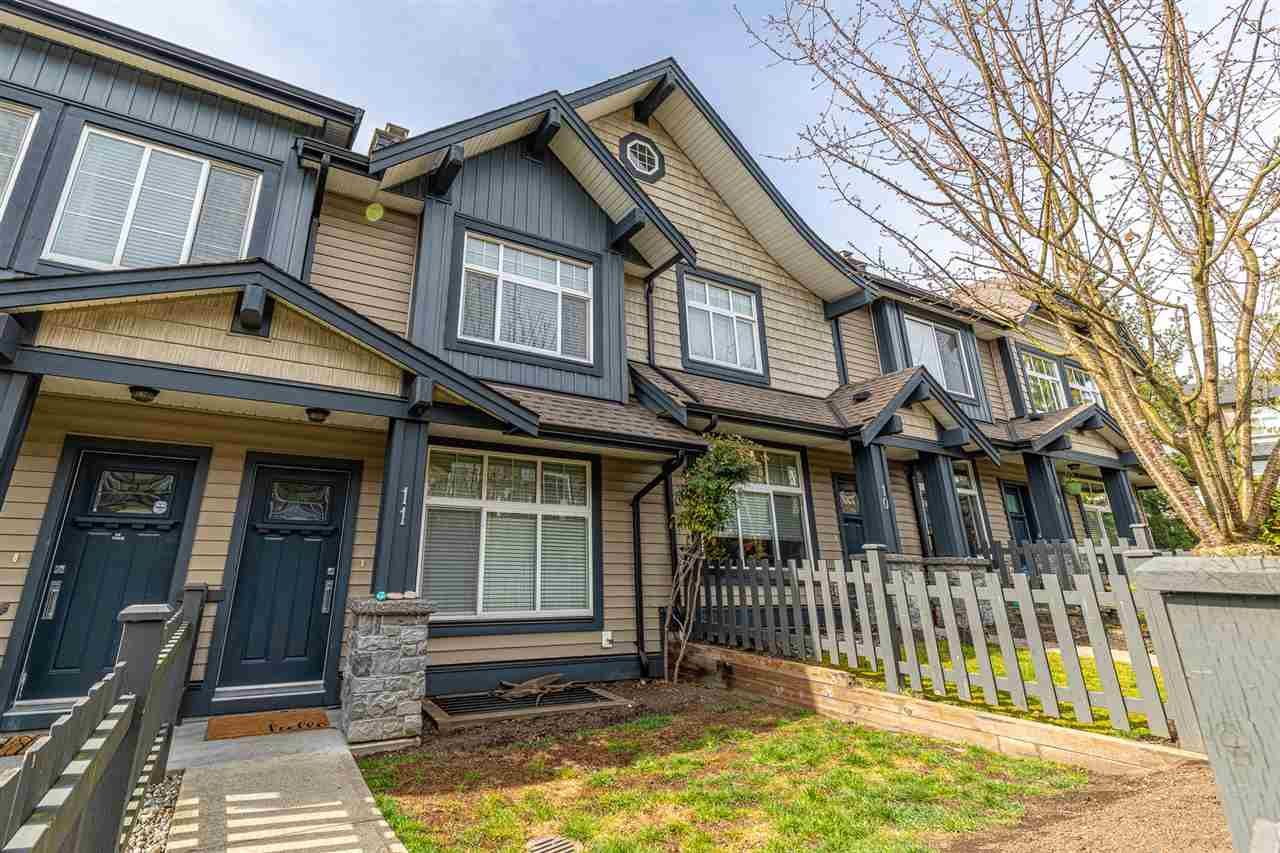 """Main Photo: 11 13819 232 Street in Maple Ridge: Silver Valley Townhouse for sale in """"Brighton"""" : MLS®# R2555194"""