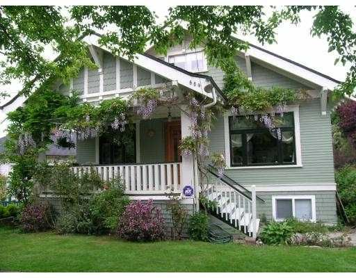 Main Photo: 669 E 21ST Avenue in Vancouver: Fraser VE House for sale (Vancouver East)  : MLS®# V711386