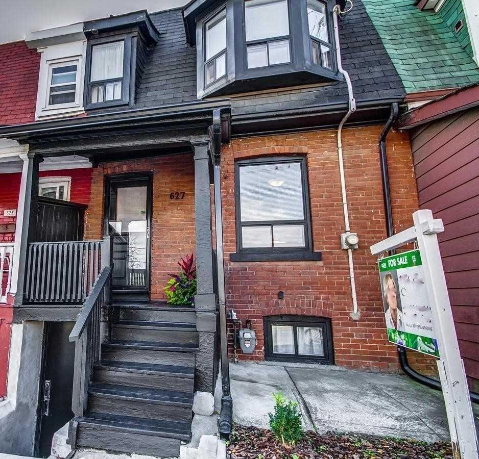 Main Photo: 627 Dupont Street in Toronto: Annex House (2-Storey) for sale (Toronto C02)  : MLS®# C5369602