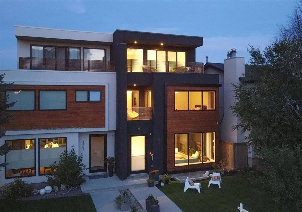 Main Photo: 4904 21A Street SW in Calgary: Altadore Semi Detached for sale : MLS®# A1138364