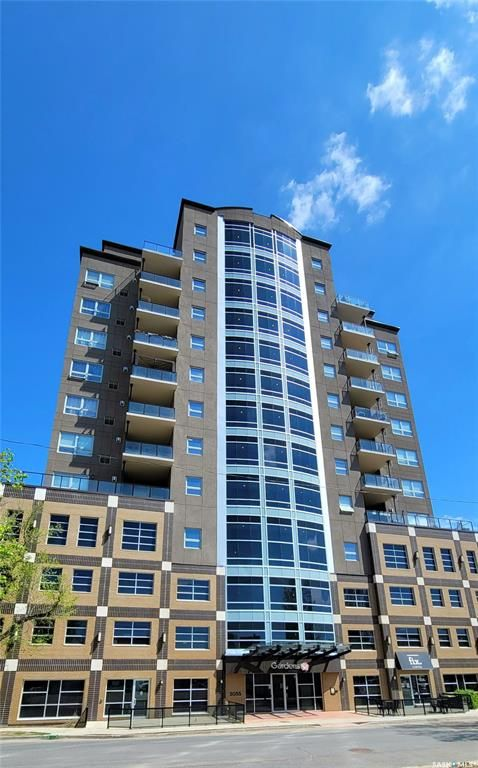 Main Photo: 1002 2055 Rose Street in Regina: Downtown District Residential for sale : MLS®# SK842126