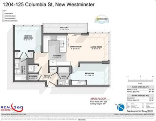 """Photo 37: 1204 125 COLUMBIA Street in New Westminster: Downtown NW Condo for sale in """"NORTHBANK"""" : MLS®# R2584652"""