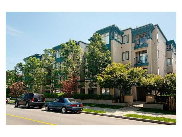 "Main Photo: 209 688 E 16TH Avenue in Vancouver: Fraser VE Condo for sale in ""VINTAGE EASTSIDE"" (Vancouver East)  : MLS®# V838623"