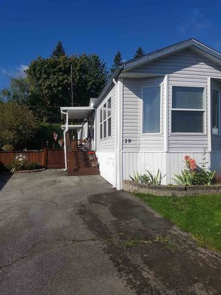 Photo 1: 19 9960 WILSON STREET in Mission: Stave Falls Manufactured Home for sale : MLS®# R2213959
