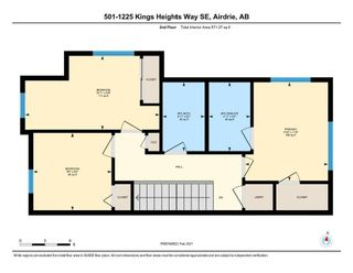 Photo 25: 501 1225 Kings Heights Way: Airdrie Row/Townhouse for sale : MLS®# A1064364