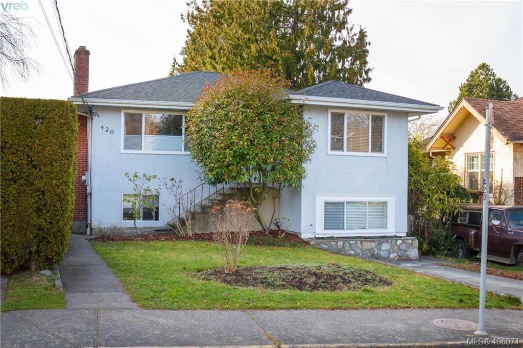 Main Photo: 420 Richmond Ave in VICTORIA: Vi Fairfield East House for sale (Victoria)  : MLS®# 806983