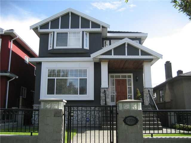 Main Photo: 2778 E 4TH Avenue in Vancouver: Renfrew VE House for sale (Vancouver East)  : MLS®# V829099